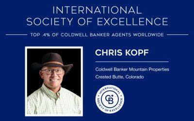 CBMP Broker Earns Elite International Award